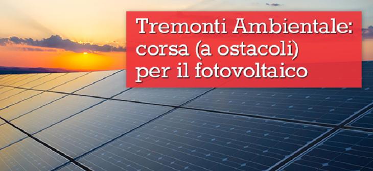 Tremonti Ambiente e conti energia