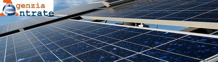 Accatastamento impianti fotovoltaici