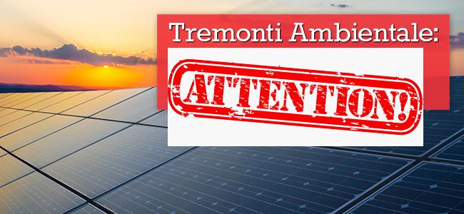 Ultim'ora – Il GSE proroga la rinuncia ai benefici della Tremonti Ambiente!